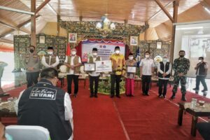 Kolaborasi Forkopimda Jatim, Menkes dan BNPB Atasi Covid-19 di Bangkalan