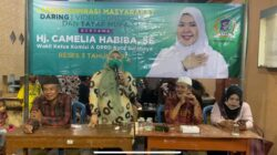 Reses Pertama,Camelia Habiba disambati Warga Ampel Minta Di Bangunkan Puskesmas