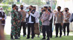 Panglima TNI dan Kapolri Berikan Apresiasi Forkompimda dalam Penanganan Covid di Jatim